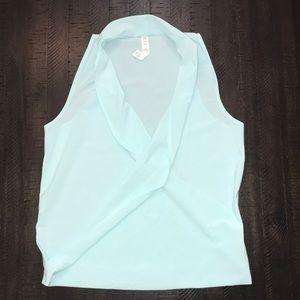 Lululemon Tiffany baby blue top